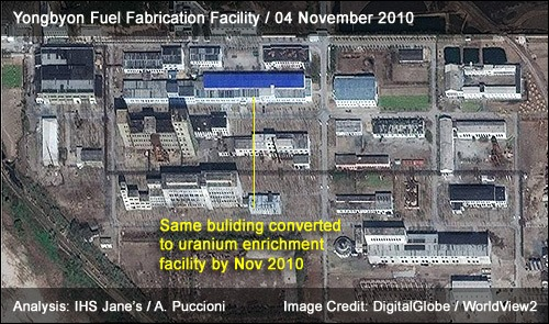 Yongbyon Fuel Fabrication Facility | 04 November 2010