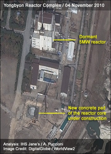 Yongbyon Reactor Complex | 04 November 2010