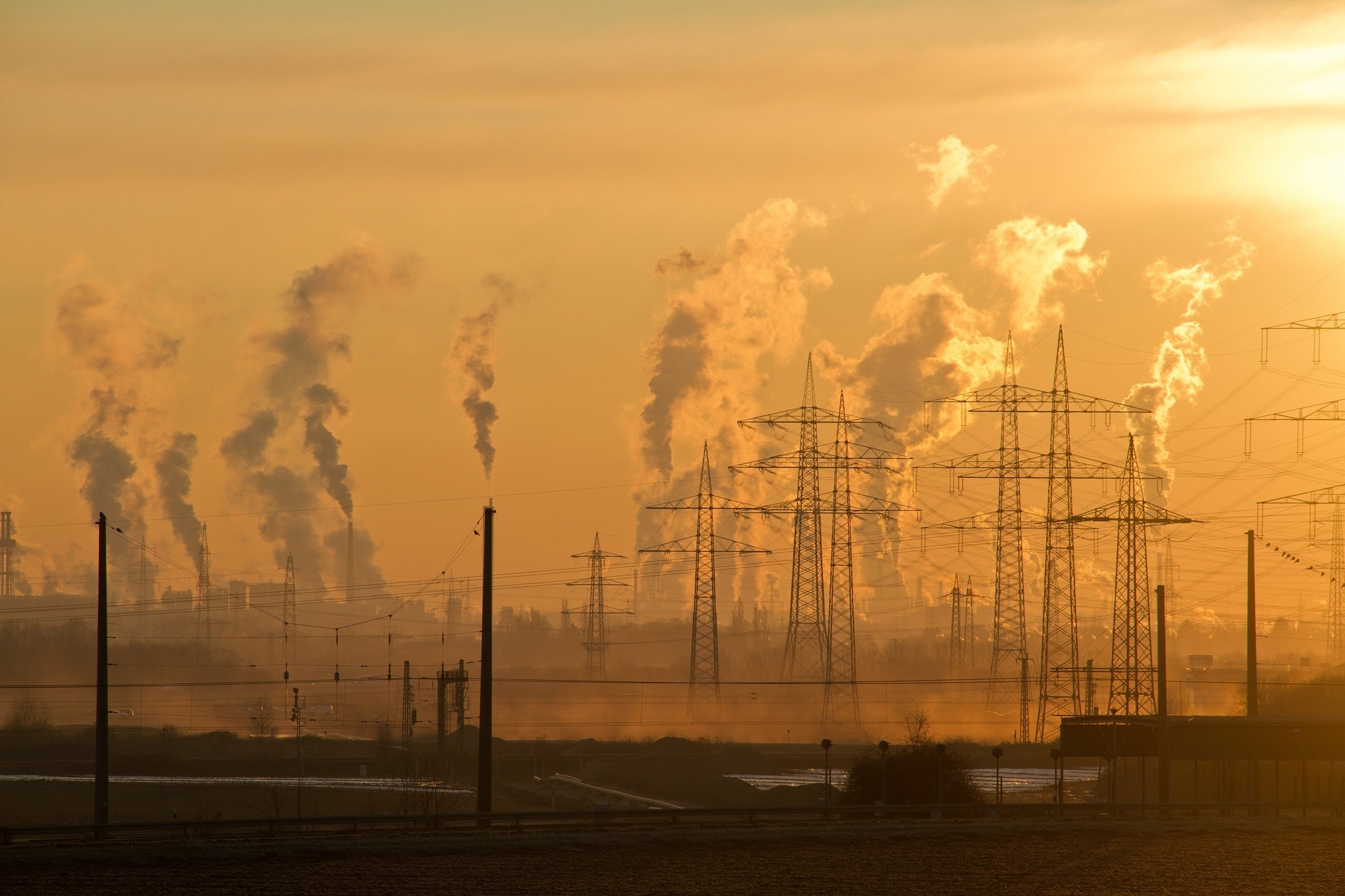climate change - fossil fuels energy air pollution