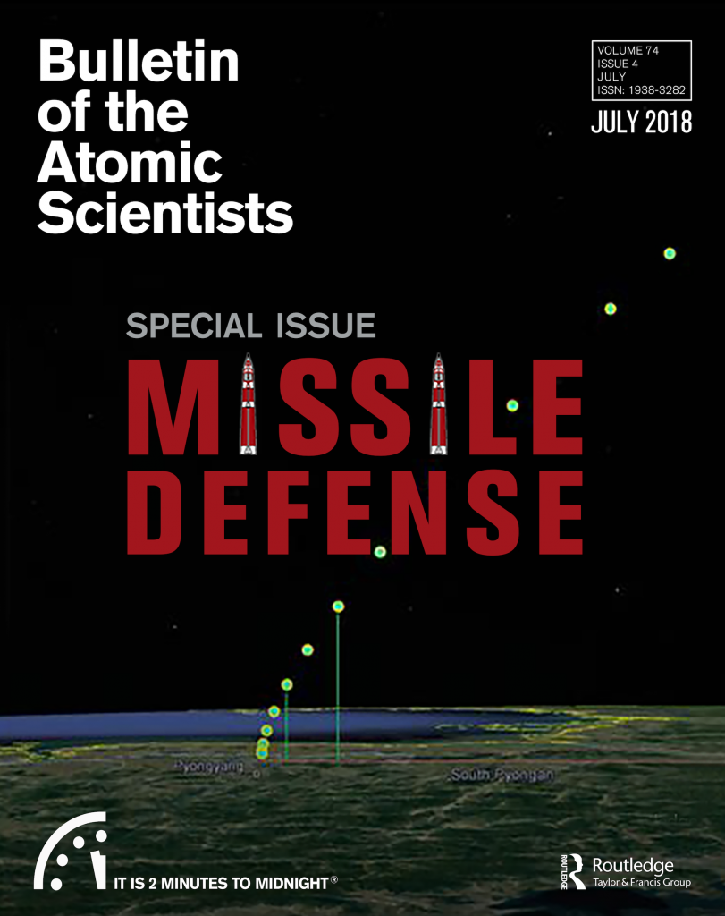 Bulletin magazine cover July 2018