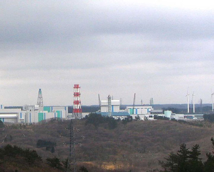 The Rokkasho reprocessing facility.