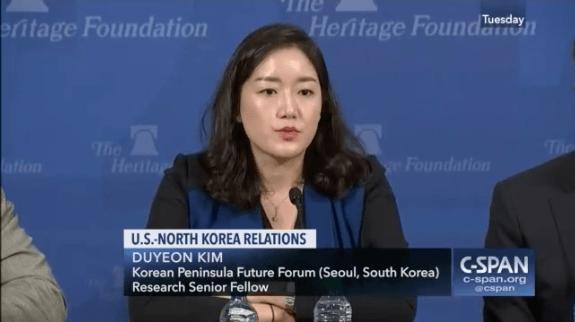 Duyeon Kim cspan usa north korea Donald trump kim jong-un summit singapore