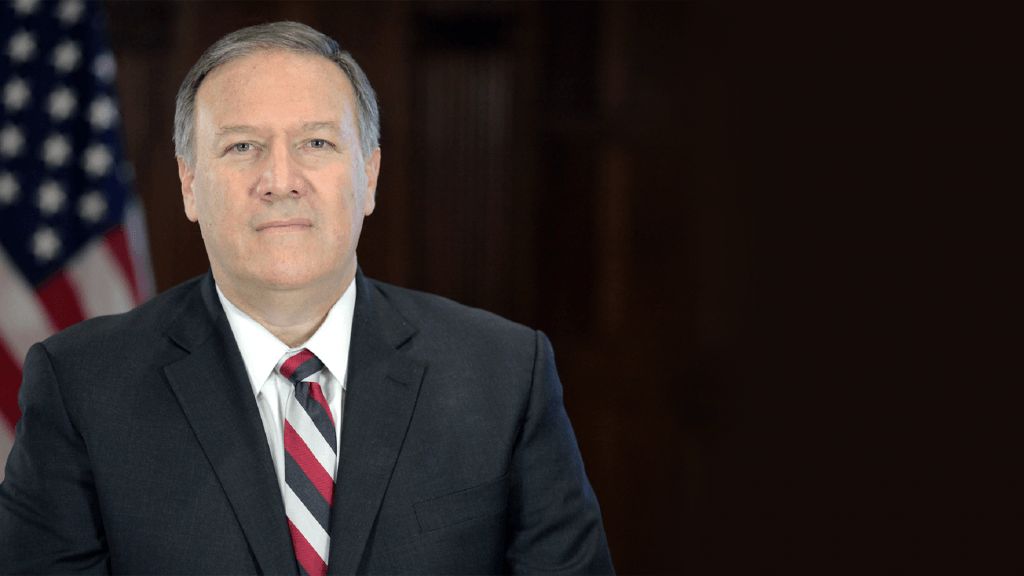 Secretary of State Mike Pompeo