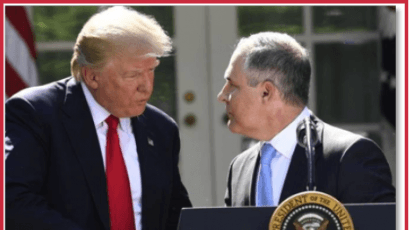 President Trump and EPA Administrator Pruitt at the White House in June 2018