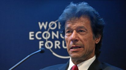 Imran Khan, at the 2012 World Economic Forum. Photo by Remy Steinegger, World Economic Forum, swiss-image.ch/ .