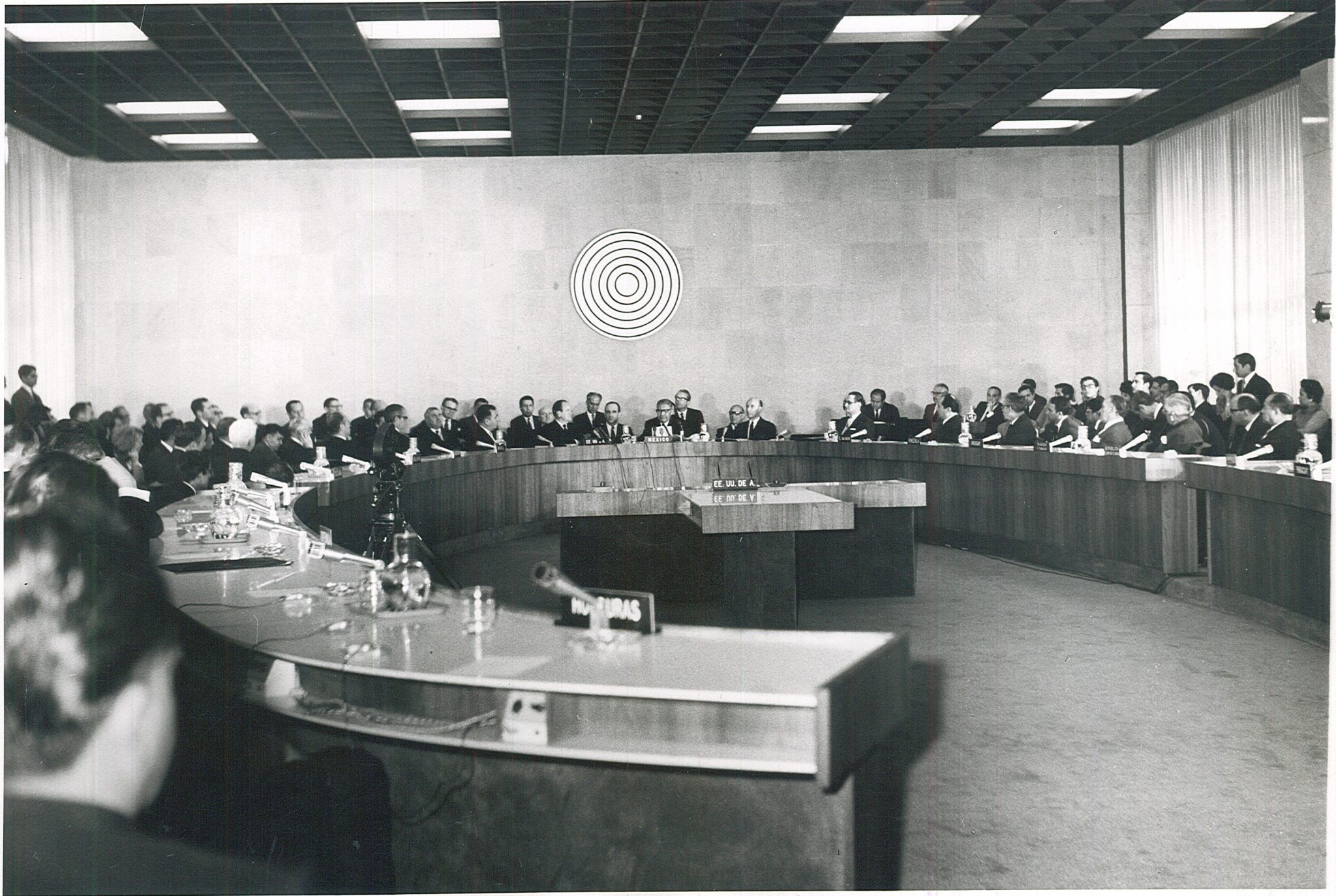 Preliminary Meeting for the Constitution of the Agency for the Prohibition of Nuclear Weapons in Latin America, held in Mexico City in 1969.