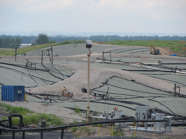 The West Lake Landfill Superfund Site, circa 2014. Photo by: Kqueirolomce