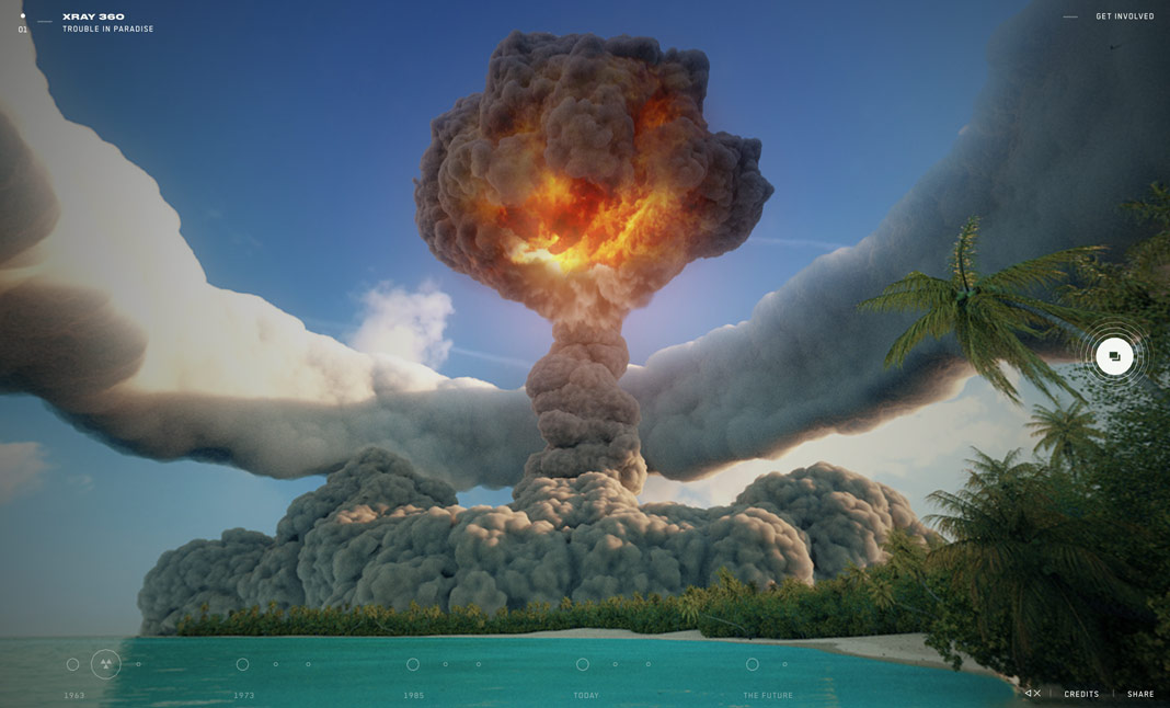 nuclear bomb, virtual reality, nuclear dissent