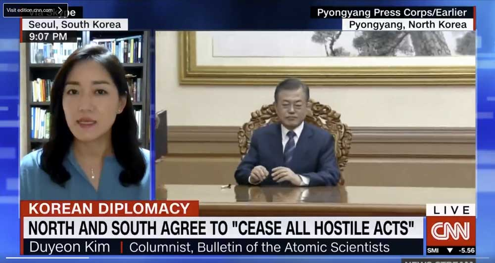 Bulletin columnist Duyeon Kim on CNN.