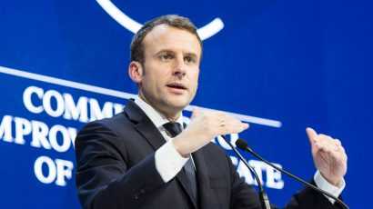 French President Emmanuel Macron. Credit: © World Economic Forum / Sikarin Thanachaiary CC BY-NC-SA 2.0
