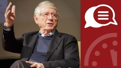 Ted Koppel interview card