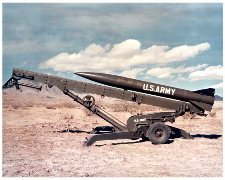 A small rocket launcher. Credit: US Army via Wikimedia Commons.