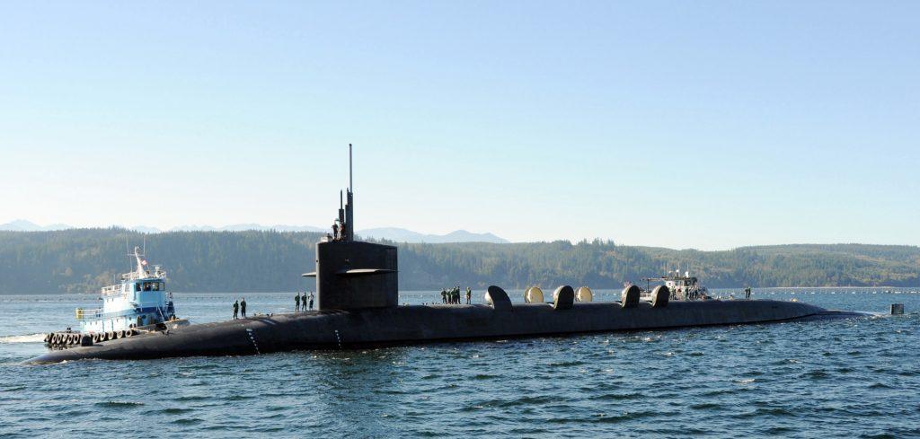 The USS Alabama, a US ballistic submarine. Credit: US Navy via Wikimedia Commons.